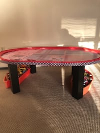 Cars Kids Play Table with Track