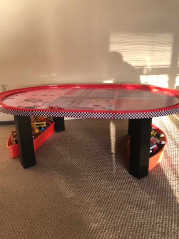 Cars Kids Play Table with Track 0