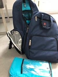 black and blue duffel bag Mamaroneck, 10543