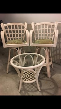 Bar stool chairs and side table  Guelph, N1L 0M3