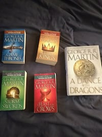 Game of Thrones Books 1-5
