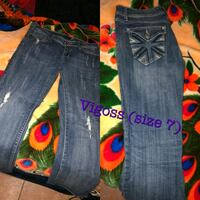 blue denim jeans with text overlay Portales, 88130