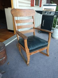Library Rocking Chair New Oxford