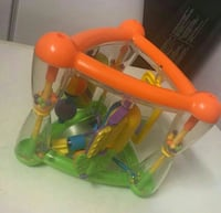 toddler's orange and green plastic toy Bradford, BD7 2BZ