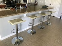 1-$55 / 2-$99 / 3-$140 / 4-$175 Set of bar stools brand new!!! prices for set Chairs sillas cadeiras  Clifton, 07011