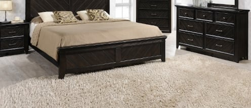 Elegant and Stately Detailed Bedroom Group