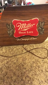 Working Vintage Miller High Life sign Silver Spring, 20905