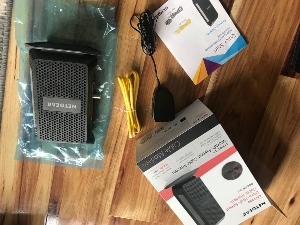 NETGEAR (CM1000) Xfinity For XFINITY by Comcast and Cox  Compatible with  Gig-Speed from Xfinity