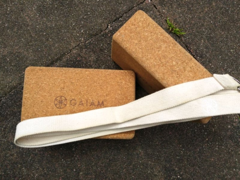 Sold Gaiam Yoga Blocks And Strap In San Francisco Letgo