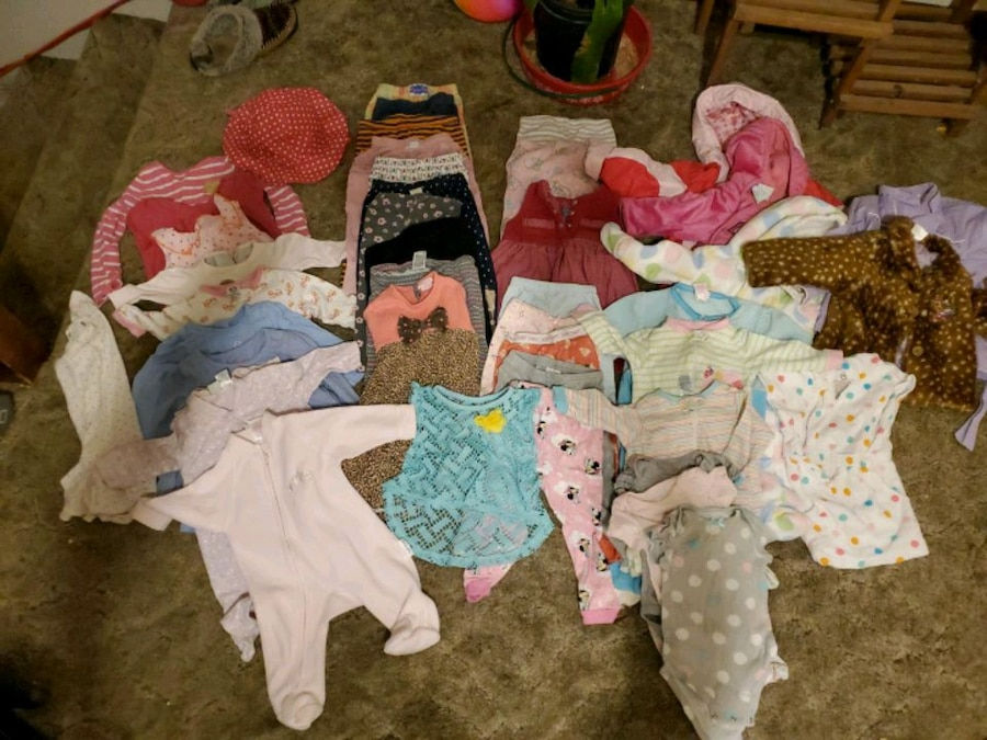 Photo Baby girl clothes 0-3 months all the way up to 12 months