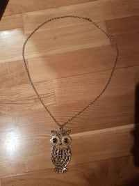 Owl necklace Oslo, 0368