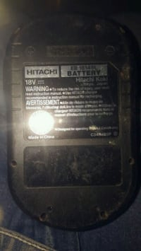 Hitachib18v battery (no charger)