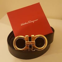 Salvatore Ferragamo Black Reversible Vaughan, L4H 3P6