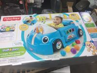 Fisher price laugh and learn car BRAND NEW GIFTABLE   3 stages of learning. Would make a great Christmas gift. Hamilton, L8M 2B5