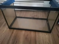 black framed clear glass pet tank Edmonton, T5H 3T3