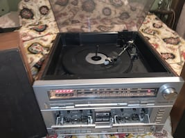 Record/cassette player