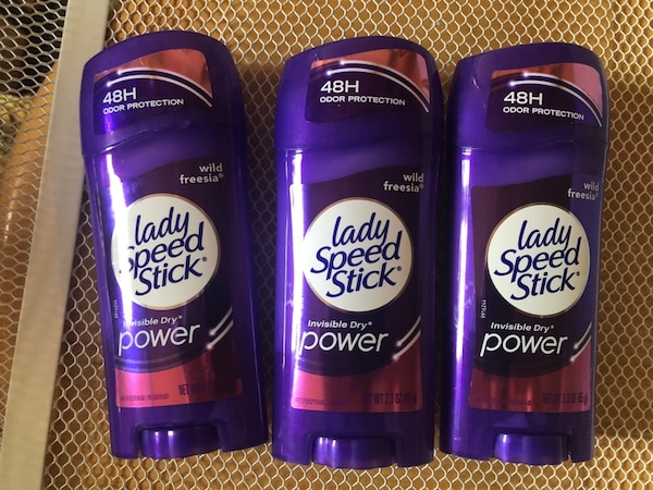 3 Lady Stick Deodorants