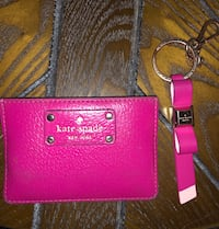Pink Kate Spade wallet and matching key chain Rockville, 20832