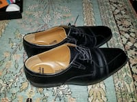 Clarks black oxford men's shoes 13