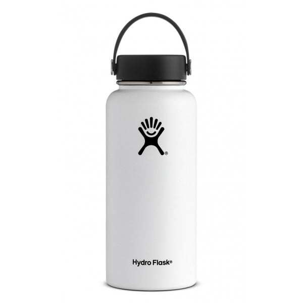 Hydro Flask 32oz Wide Mouth (White)