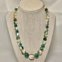 Genuine Tree Agate Beaded Necklace Ashburn, 20147