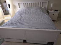 IKEA Hemnes bed frame with under storage Rockville, 20853