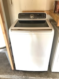 Samsung washer and Kenmore dryer