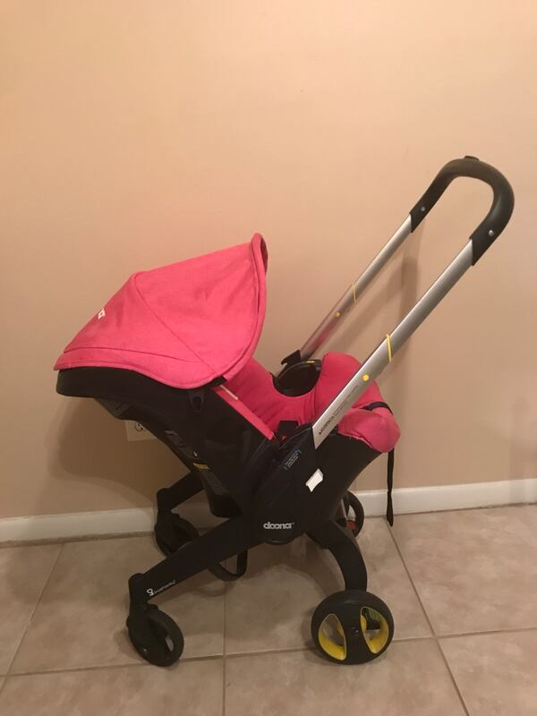 Used Pink Doona Max Car Seat Stroller Combo For Sale In Lutz Letgo