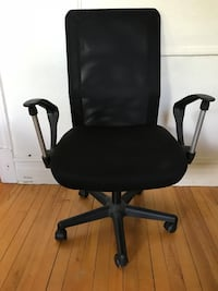 black and gray rolling armchair Montréal, H1W 3S5
