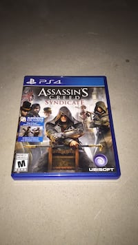 Assassin's Creed Syndicate PS4 game case Uxbridge, L9P 2A1