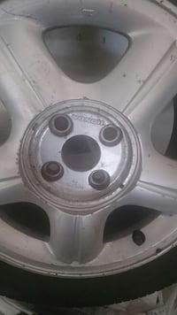 All season Tire's & Rims195 55r 15. 80% Good