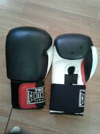 black and red Contender boxing gloves 3158 km