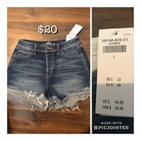 Hollister jean shorts  Winnipeg
