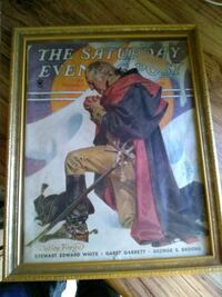 1935 Saturday Evening Post!! Original and Rare!! Johnson City, 37601
