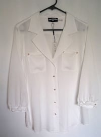 KL White Blouse L Burnaby