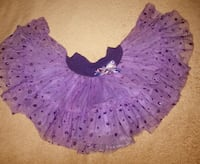 Fluffy tutu skirt ( size 2t/3t). I say it would fit 24 months Alexandria, 22302