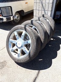 Cadillac Escalade Bridgestone P285/45R22 with Rims Mission