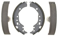 ACDelco 17945B Professional Durastop Bonded Rear Drum Brake Shoe set Oshawa