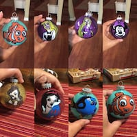 Disney hand painted 3dollars each  Tracy, 95376