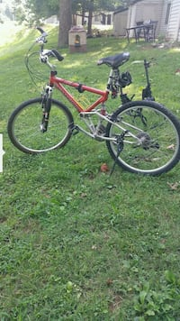 red and black hardtail mountain bike Knoxville, 37923
