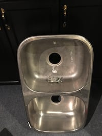 stainless steel double sink 551 km