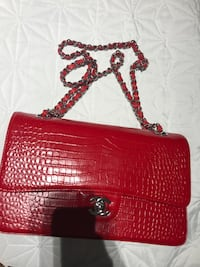 Chanel red crocodile skin leather crossbody bag Vaughan, L6A 0T6