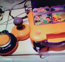 vTech game console.