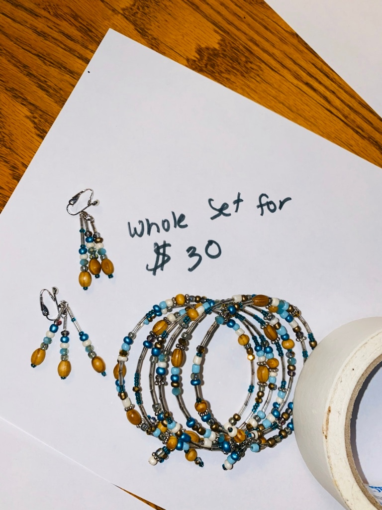 Photo Helping grandma clear out her jewelry box-- all costume jewelry-priced separately on pictures (unless marked different like the 1 M brooch ) as far as I know and priced as such. ATTN: ALL EARRINGS ARE CLIP ON ONLY- Will make deals if buying more than 1