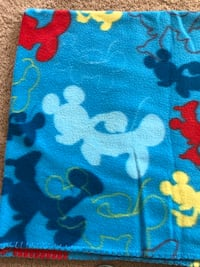 Very soft Mickey Mouse Throw blanket The Colony, 75056