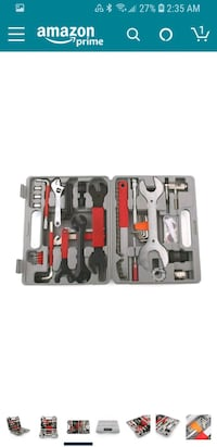 red and black power tool set Springfield