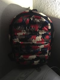 black and red floral backpack Pleasant Hill, 94523