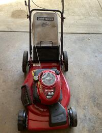 CRAFTSMAN SELF-PROPELLED MULCHING LAWN MOWER WITH BAG