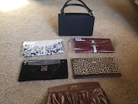 Miche bag with 5 interchangeable covers. 3 covers never used