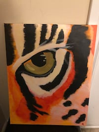 Hand Painted Canvas Art.